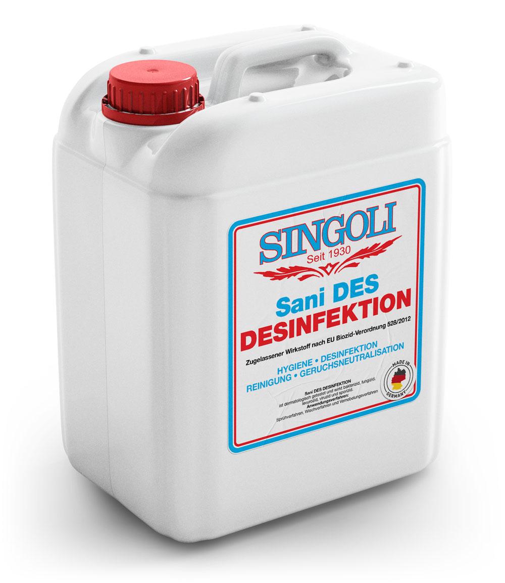 Singoli Flächendesinfektion Dani DES Desinfektion